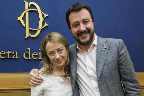 Giorgia-Meloni-e-Matteo-Salvini