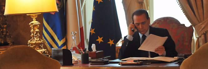 Non può sfuggire che sia Berlusconi a tenere in piedi questo governo. E d'altro.