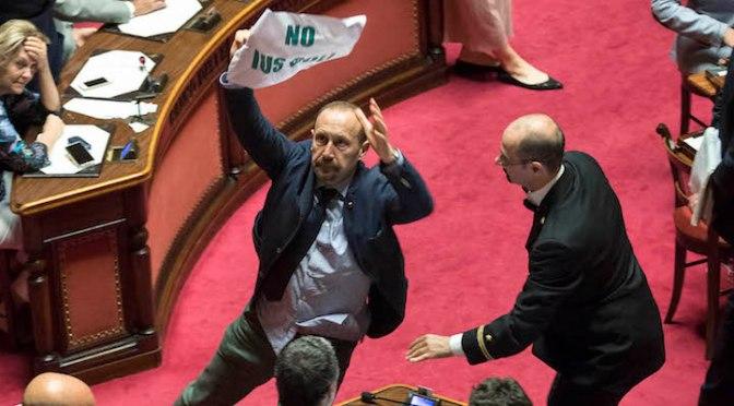 Se arriva lo Ius Soli in Senato, fate cadere il Governo. E basta.