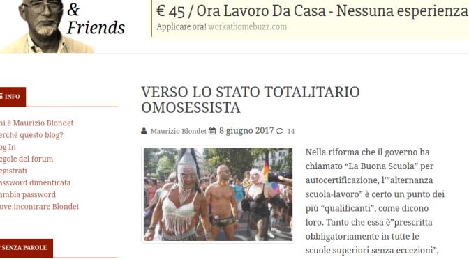 Salvini e Meloni ci salveranno dal governo PD sodomitico-banchiero-massonico della puttana della Boschi e suo padre e affini.