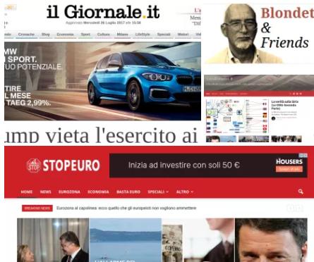 Rassegna Stampa:Uomini con la Paghetta, Soros, e l'euro collasserà.