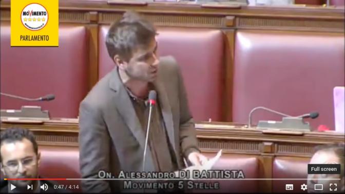 Bisogna dirlo: Di Battista è un Grande.