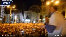 Salvini in Puglia acclamato da una folla