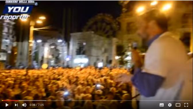 I Successi di Salvini: al Nord, al Centro e al Sud. Viva l'Italia.