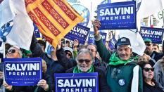 Supporter di Salvini del Nord