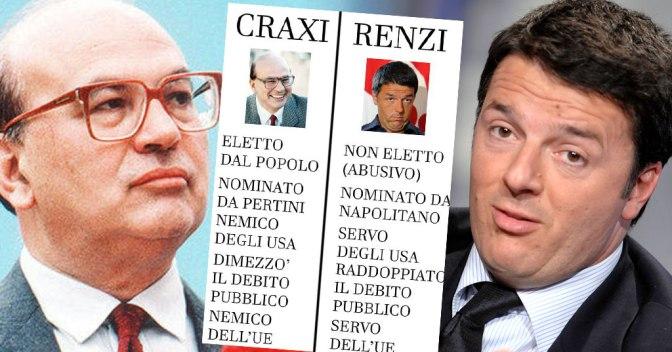 Il Nostro presidente del Consiglio Craxi dice: la Lotta Armata è Legittima.