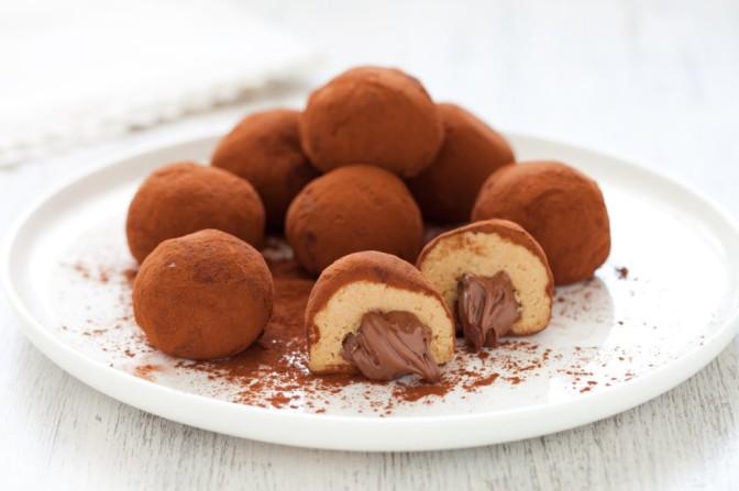 Palline Tiramisù e Nutella. Per Riprenderci.