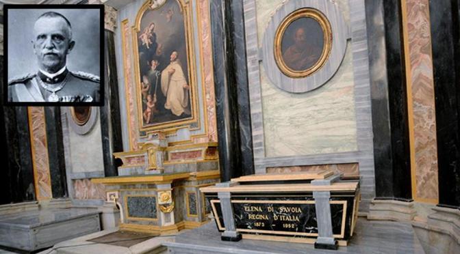 De-istituzione della Lobby Ebraica. Re Vittorio Emanuele III, che firmò le Leggi Razziali contro gli Ebrei, viene riportato in Italia.