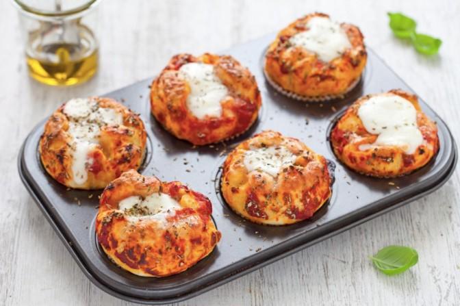 Basta dolci, per riprenderci stavolta Muffin di Pizza.