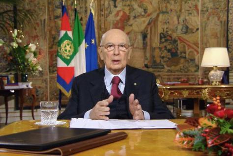 ++ Napolitano conferma prossima fine mandato ++