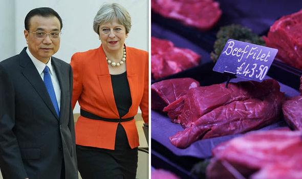IMPORTANTE: La Gran Bretagna ha appena preparato un accordo commerciale con la Cina fuori dal Mercato Unico Europeo.