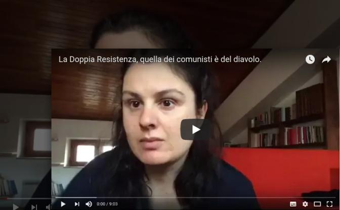 """No """"resistenza"""" dei comunisti e si patriottismo."""