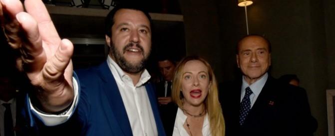 Banca Intesa, CEI, Banca Rothschild, Vaticano tutti vogliono l'inciucio Grasso, Renzi, Berlusconi, ora gli diamo tre pallottole con tre nomi: DiMaio, Salvini, Meloni.