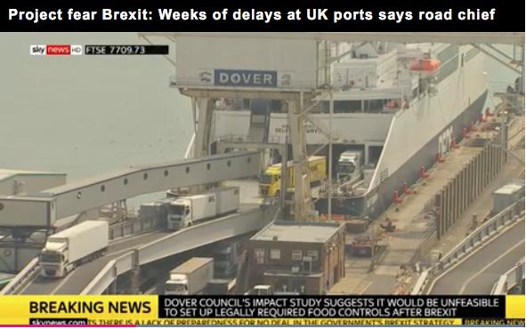 Il Divorzio: l'UE si spacca, Olanda e Belgio mantengono regime di libero scambio con la GB mentre la Francia chiude i Porti.