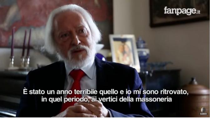 Giuliano DiBernardo si è dimesso da Presidente del GOI perché…il GOI è controllato dalla 'Ndrangheta. Bene.