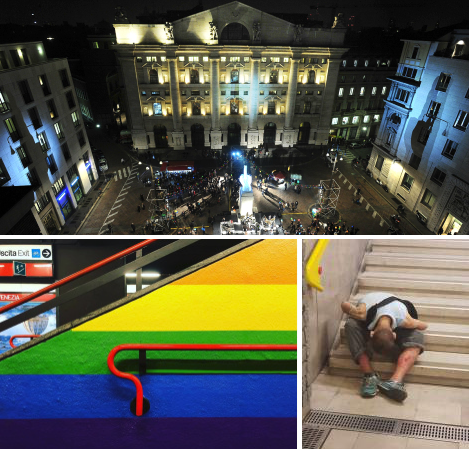 Milano Gay: perché Forza Italia e il PD l'hanno rovinata e bisogna votare Lega.Come in Abruzzo dove Salvini corre da solo.