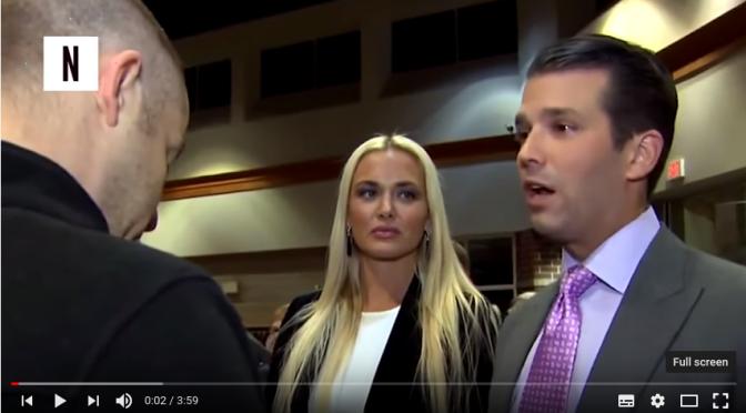 Il bastardo, la bionda e la CNN; e perché siamo sulla carrozza di Trump.