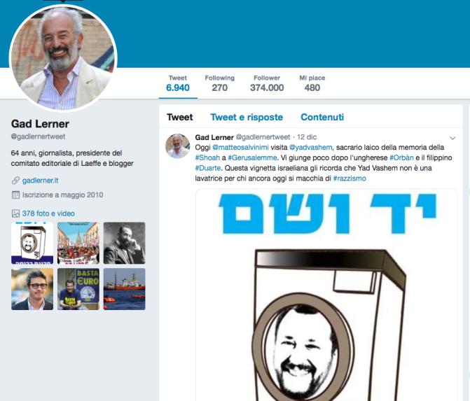 Salvini non è Fini e non ha nessun bisogno di sdoganarsi in Israele, ha vinto senza Israele ed è Israele che vuole alleati.