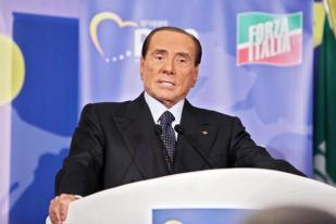 "President of Italian party ""Forza Italia"" (FI), Silvio Berlusconi, partecipates at the convention ""Italy and Europe that we want"" organized by European Parliament President Antonio Tajani in Fiuggi, Italy, 23 September 2018. ANSA/FEDERICO PROIETTI"