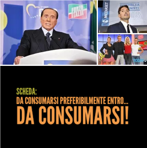 Le battute di Berlusconi su Mediaset di sinistra sono scadute e non fanno più ridere.