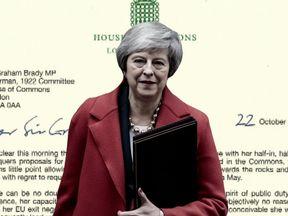 Scandalo: Theresa May ha rifiutato un accordo di libero scambio senza alcun blocco nell'NI offerto dall'UE per il gusto di impigliare la Gran Bretagna.