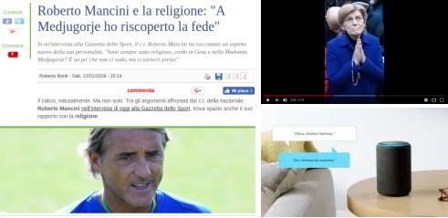 Roberto Mancini crede a questo. Se secondo voi sono messaggi della Madonna…