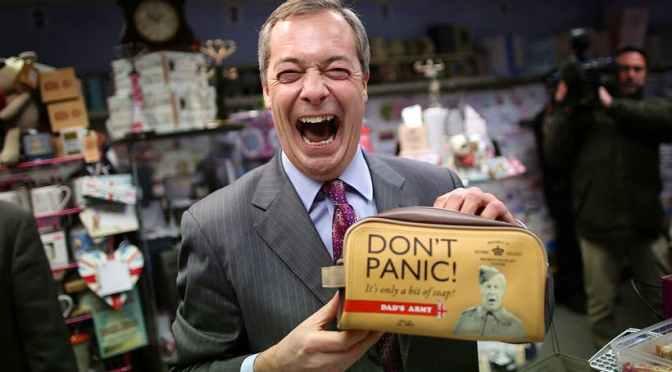 La vecchia Gran Bretagna è alla fine della corsa: niente Brexit e niente più Tories. Invece, Farage e Corbyn.