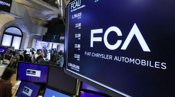 Abbiamo capito: hanno venduto la FIAT Chrysler ai Francesi.