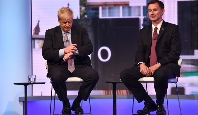 Corsa alla Leadership dei Tory: mi piacciono sia Hunt che Boris, voterei Boris ma voglio Hunt nel governo. Ecco perché