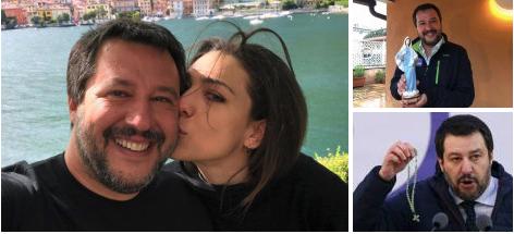 L'Amore farfallone di Salvini per la Madonna è molto di serie B. State attenti ai fatti.