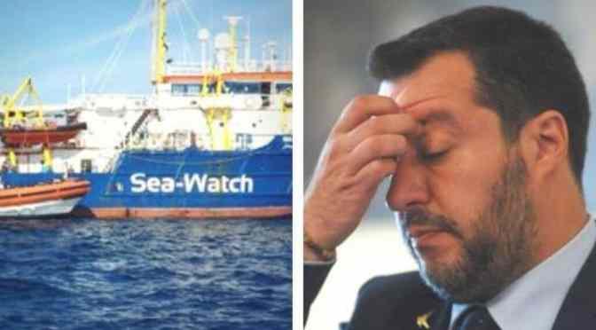 Sea Watch: gli lasciavi i due morti in barca e la Signorina Racket-e la facevano fuori i migranti.