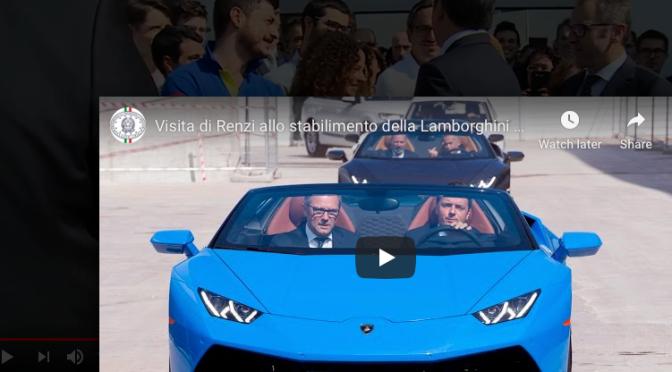 Primarie Forza Italia: Berlusconi vuole Stefano Domenicali AD di Lamborghini, ma secondo me non è interessato.