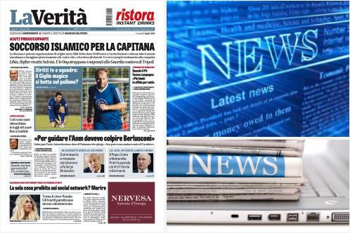 Link alle Notizie del giorno cambiato da Affari Italiani al Giornale. Ecco perché.