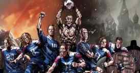 Poster della nazionale di calcio islandese
