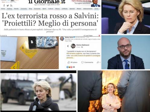 """Mentre Salvini fa il pagliaccio contro Carola, Fontana annuncia """"Lega può votare Von Der Leyen"""" – Sic –"""