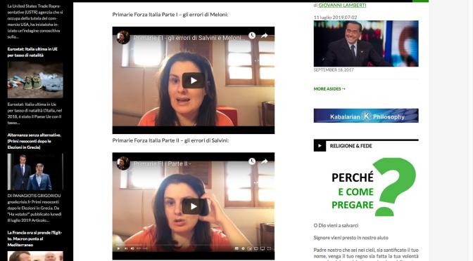 Primarie Forza Italia Parte I e II – Forse faranno meglio di Salvini e Meloni, ecco perché.