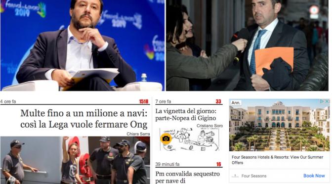 La Mega-Multa di Salvini da 1 milione di euro: perché non ci credo.