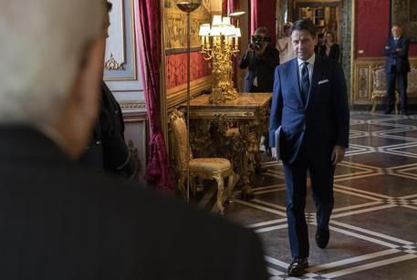 Conte at Quirinal Palace