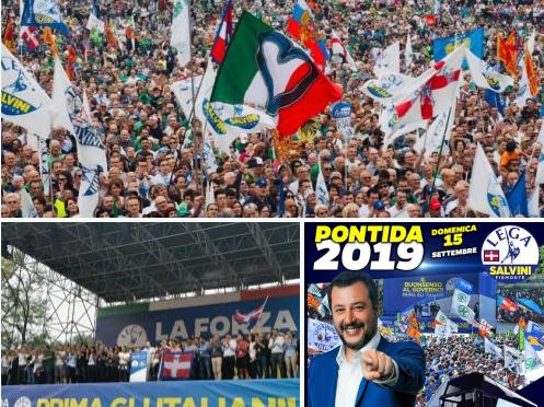 Lega X: che sia Nord o che sia Italia, Salvini c'è e Salvini ci teniamo.