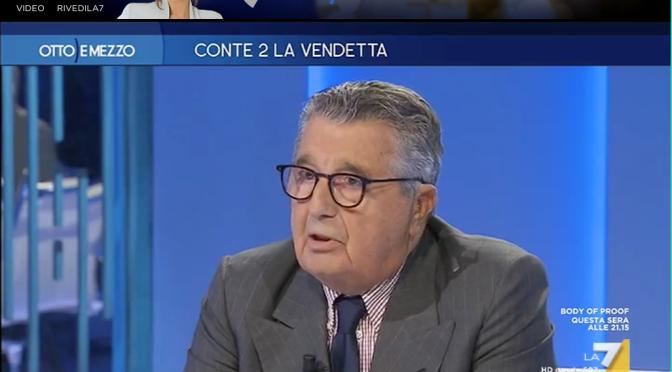 DeBenedetti nega la Fiducia al Conte bis.