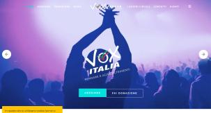 Banner Website Vox Italia
