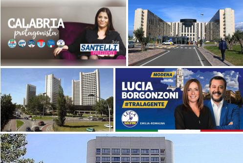 Salvini Tour: Calabria ed Emilia, contro 'Ndrangheta e Abusi su Minori. Vota a Destra.