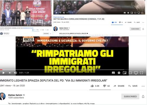 Perché Salvini tutti questi nemici NON ce li ha: guardate i like e i dislike sui suoi video.