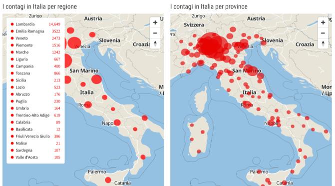 Coronavirus: i dati che spaventano. E a Milano la metro è disgraziatamente piena.