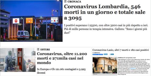Covid-19: o il Lockdown funziona, o c'è l'ipotesi nazista o alla fine della pandemia il SudItalia sarà più ricco del Nord.