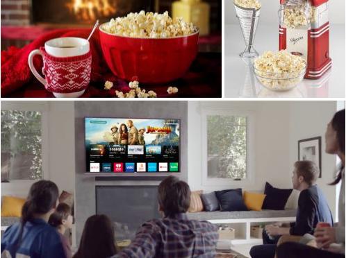 Passate i Popcorn: Coronavirus, stare a casa, guardare su Internet come Harry e Meghan si auto-distruggono.