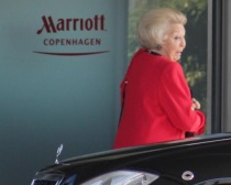 l'ex Regina d'Olanda Beatrice al Bilderberg di Copenhagen - Danimarca