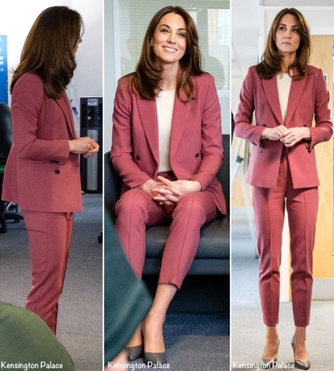 Kate-London-Ambulance-Coronavirus-rose-Marks-Spencer-Aurograph-Suit-Separates-March-19-2020-via-KP-Montage