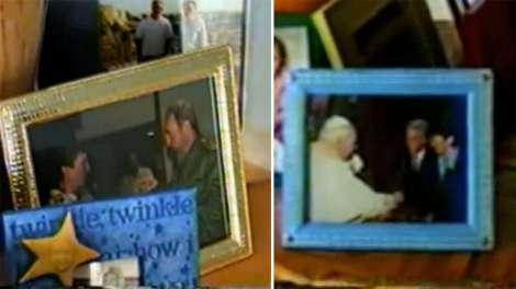 Foto trovate a casa di Epstein con Giovanni Paolo II e Fidel Castro